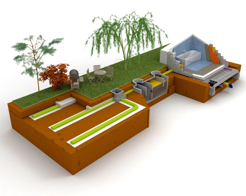 septic tank and systems including leach field Arizona